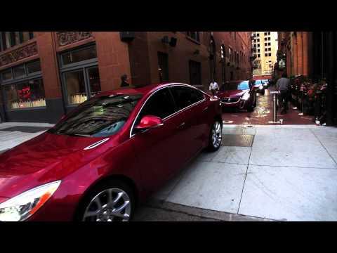2014 Buick Regal, First Drive off the 21c Hotel in Cincinnati