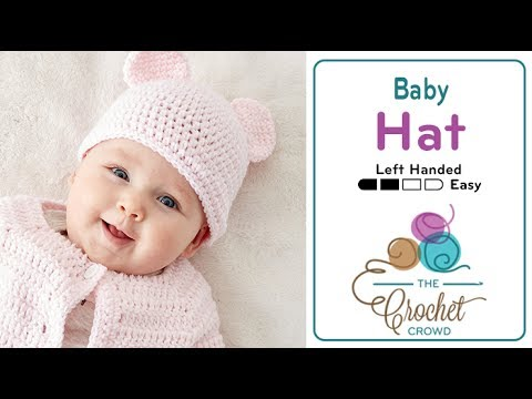 6d366634661 How to Crochet A Baby Hat with Teddy Bear Ears - YouTube