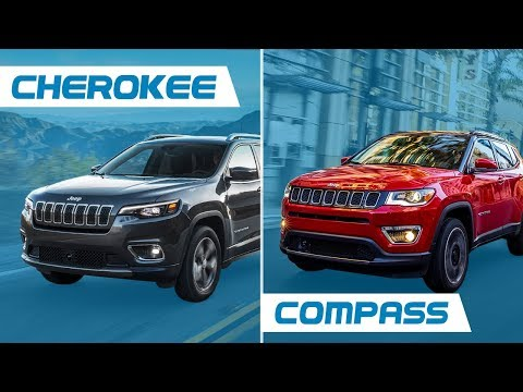 Jeep Cherokee Vs Jeep Compass Youtube