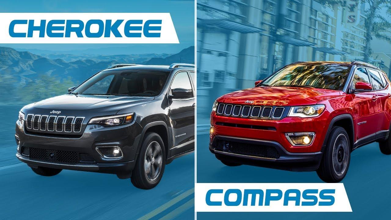 Jeep Compass Vs Jeep Cherokee >> Jeep Cherokee Vs Jeep Compass Youtube