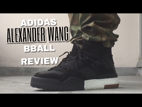 claro y distintivo Tener cuidado de barato mejor valorado ADIDAS X ALEXANDER WANG BBALL REVIEW - YouTube