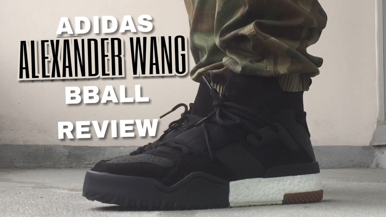 best cheap 8f181 4644d ADIDAS X ALEXANDER WANG BBALL REVIEW