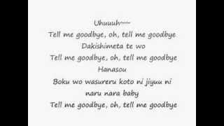 Tell Me Goodbye-Big Bang Lyrics