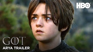 Game of Thrones | Official Arya Stark Trailer (HBO)