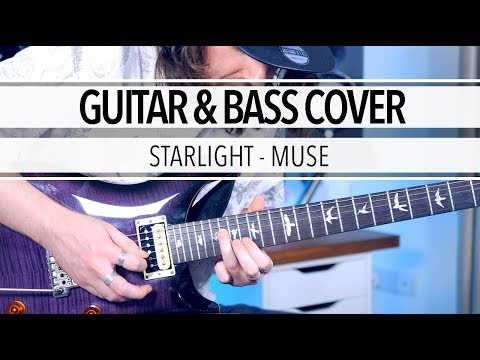Starlight - Muse (Guitar & Bass Cover)