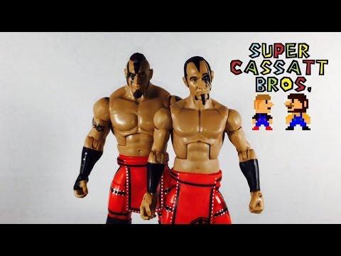 WWE Battle Packs 50 Mattel Toy Action Figures Viktor /& Konnor Ascension