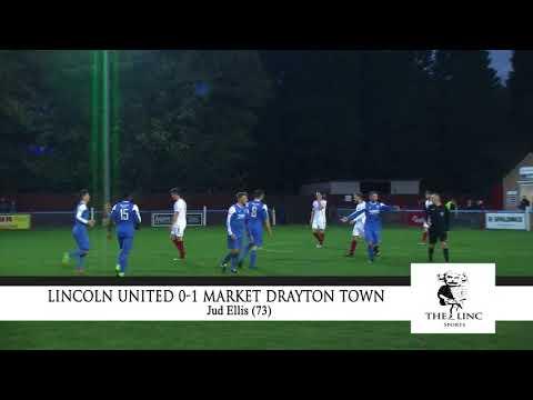 Highlights: Lincoln United 0-1 Market Drayton Town