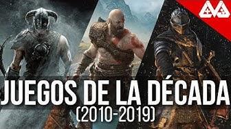 Los 12 mejores juegos de la década   (2010-2019)