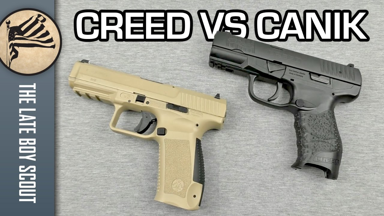 Walther Creed Vs Canik Tp9 Thursday Rough Cut Youtube