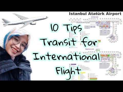 10 Tips Transit for International Flight, Jakarta to Istanbul and Denmark