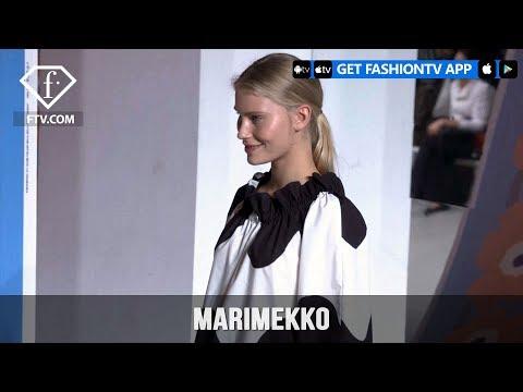 Paris Fashion Week Spring/Summer 2018 - Marimekko Trends   FashionTV