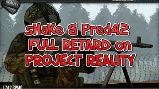 *SHAKE PLAYS* Project Reality- 2 NOOBS 1st MP MATCH...DOH!!