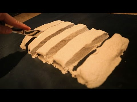 ASMR ♥ Cutting Crunchy Kinetic Sand | Satisfying Things
