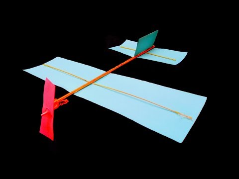 How to make Aeroplane with paper at home , paper plane life hack
