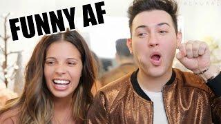 BLOOPERS W/ MANNY MUA | FUNNY AF