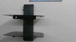 Raw Review: VideoSecu AV Component Wall Shelf