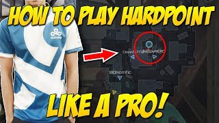 HOW TO PLAY HARDPOINT + PRO STRATS! (Call of Duty Mobile)