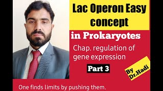 Lac Operon Concept Simple And Easy To Learn In English By Dr Hadi