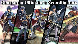 Comparing Ultimate's Swordfighters (Differences Between Marth, Lucina, Roy, Chrom & Ike)