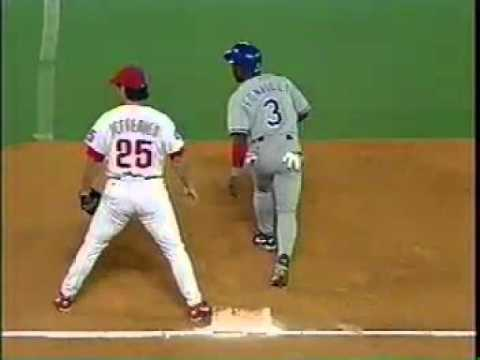 August 1995 - Dodgers vs Phillies  @mrodsports