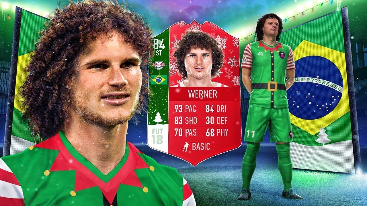 Juventus Wernaldinho The Brazilian Futmas Werner The Rarest Card In Fifa Fifa 18 Ultimate Team Youtube