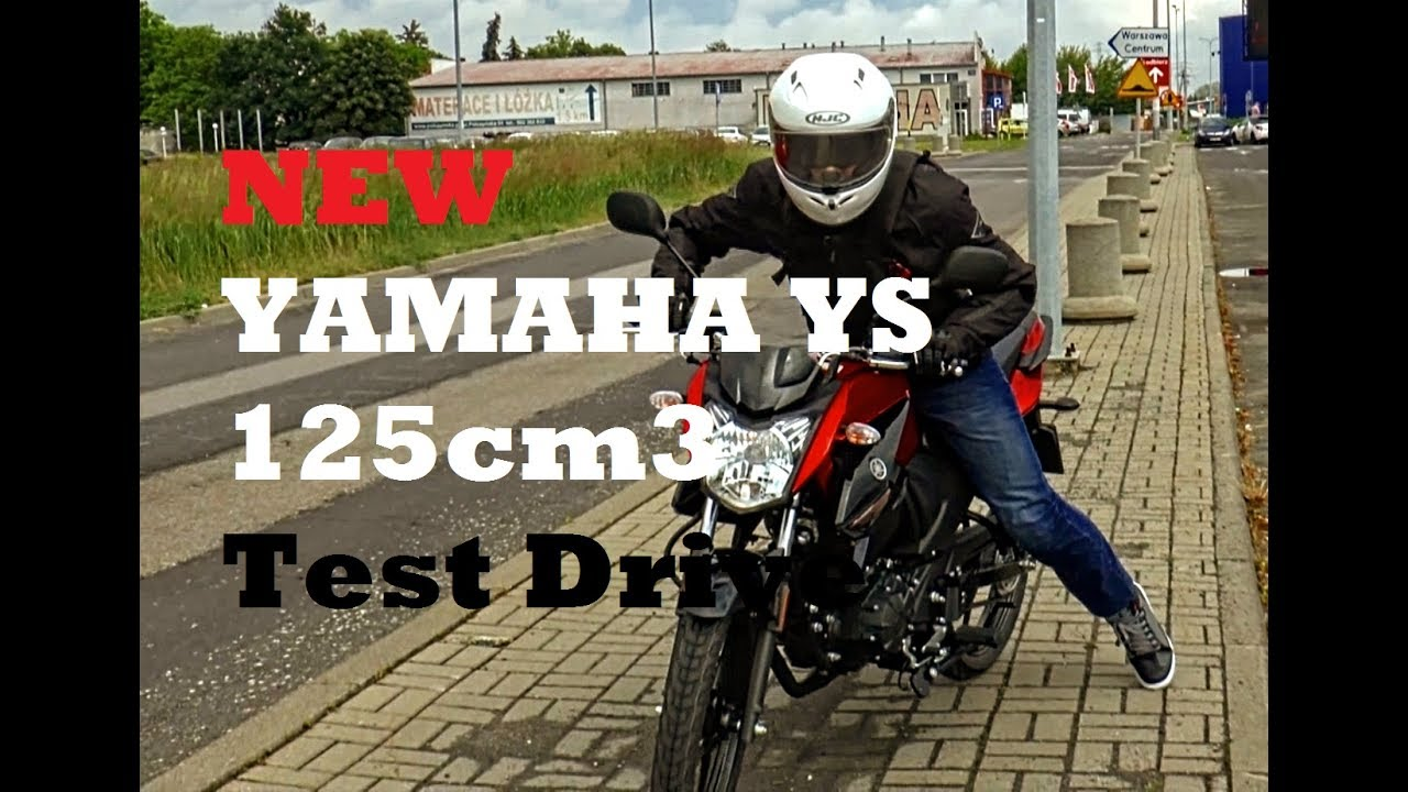 yamaha ys 125 2017 test drive and review youtube. Black Bedroom Furniture Sets. Home Design Ideas