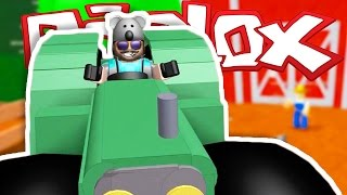 THIS TRACTOR IS INSANE!! | ESCAPE THE EVIL FARMER | ROBLOX