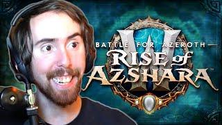 JUNE 25! Asmongold Looks at RISE OF AZSHARA Trailer & Dev Insight w/ Ion Hazzikostas