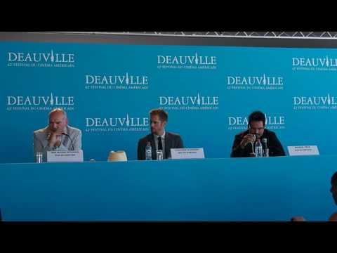 [Deauville 2016] War on Everyone press conference with Alexander Skarsgård & Michael Peña