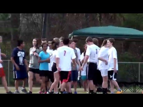 Fletcher Academy Falcons vs Camelot Academy - Ultimate Frisbee 3/17/16