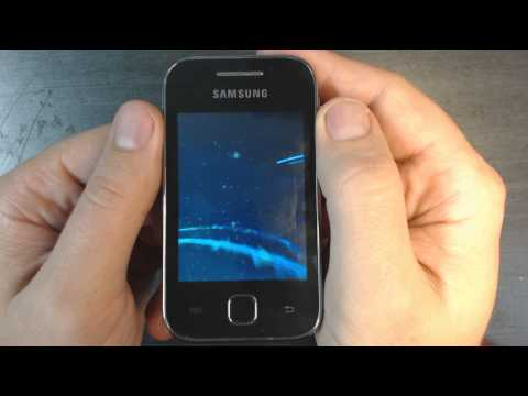 Samsung Galaxy Y S5369 - How to reset - Como restablecer datos de fabrica