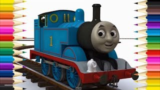HOW TO DRAW THOMAS AND FRIENDS...