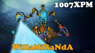 Dota 2 - WillaMiRaNdA Subscriber plays Tinker Patch 6.82! - Pub gameplay !