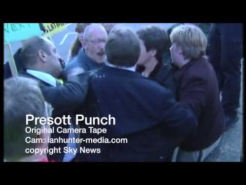 John Prescott Punch Original Camera Tape