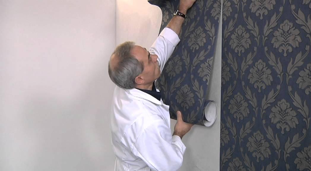 Behangen met vliesbehang youtube for Gipsplaten behangen met vliesbehang