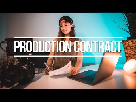 Video Photography Production Contract - free template download!