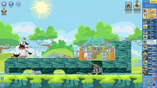 Angry Birds Friends Tournament Mania 2-3 ● LEVEL 5 ● 228 K HD ● Week 204 ●  POWER UP