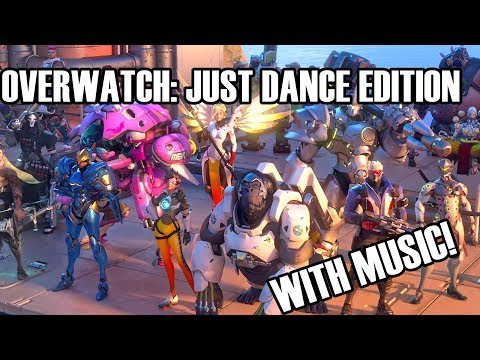Overwatch - All Dance Emotes with Music That Fits