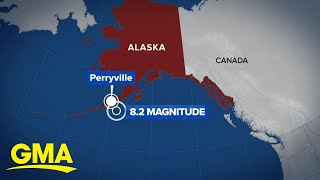 8.2 earthquake strikes Alaska l GMA