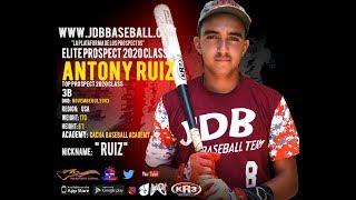 Antony Ruiz 3B 2020 Class From (Cacha Baseball Academy)Date Video: 21.04.2019