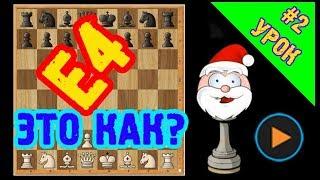 Шахматы для начинающих/Урок #2/Шахматная аннотация/Начальная расстановка фигур.