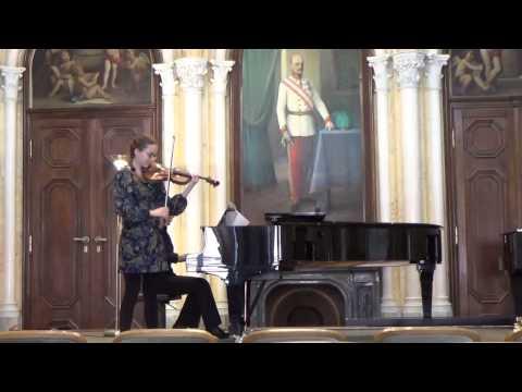 Rodion Shchedrin - In the Style of Albéniz    RENATA ZIMA -violin