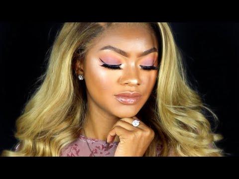 berry matte makeup tutorial beginner friendly  jazzie
