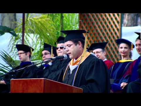 2011 Department of English Commencement Speaker Sean Astin