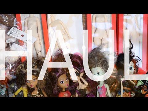 HUGE Doll & Doll Repaint Supply Haul - Obitsu, Aliexpress, Ebay, Monster High, Etc • JackyOhhh