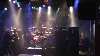 Death Destruction - Mark My Words (Live 4.12.2009)