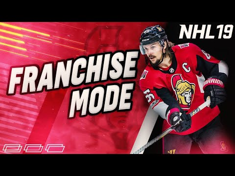 "NHL 19 Franchise Mode l Ottawa Senators #3 ""TRADES GALORE!'"
