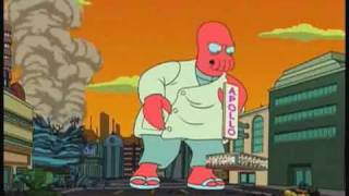 Zoidberg Best Moments! Futurama clips