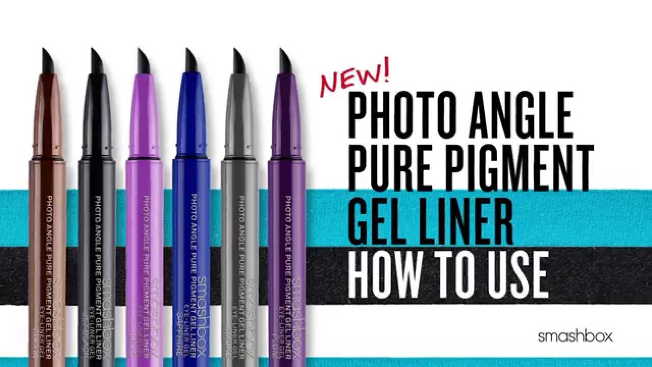 How To Use Smashbox Photo Angle Pure Pigment Gel Liner Sephora
