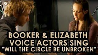 Repeat youtube video BioShock Infinite: Booker & Elizabeth voice actors sing